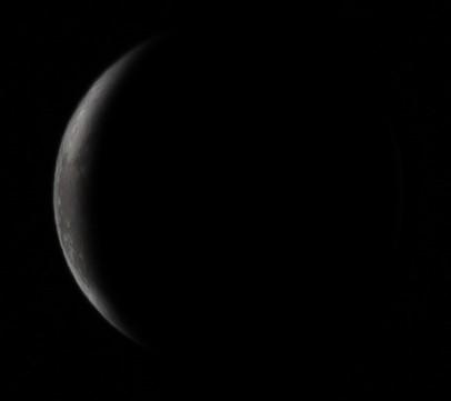 Εξασθενίζοντας ημισεληνοειδές φεγγάρι - 23-1-2020