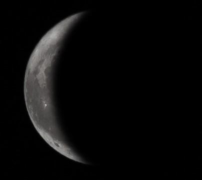 Εξασθενίζοντας ημισεληνοειδές φεγγάρι - 20-1-2020