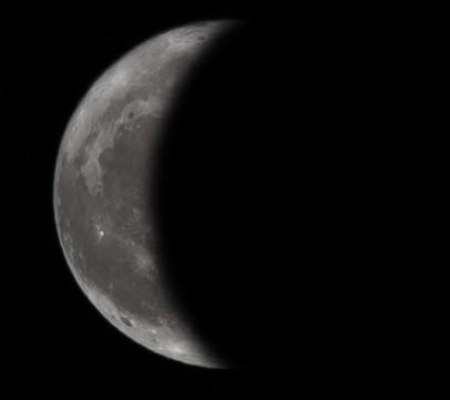 Εξασθενίζοντας ημισεληνοειδές φεγγάρι - 19-1-2020