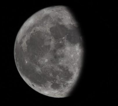 Εξασθενίζοντας κυρτό φεγγάρι - 14-1-2020