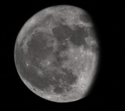 Εξασθενίζοντας κυρτό φεγγάρι - 11-1-2020